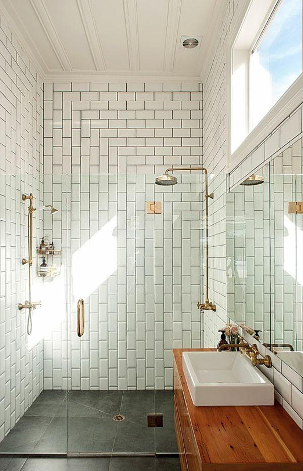 Bodengleiche Dusche Kleines Bad : Kleines Bad Fliesen – helle Fliesen lassen Ihr Bad gr??er erscheinen