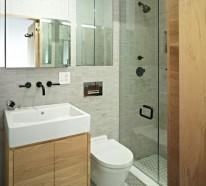 Kleines Bad einrichten - nehmen Sie die Herausforderung an!