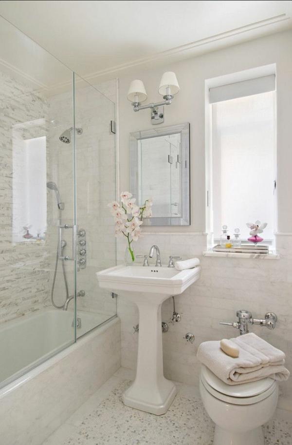 Dusche Neu Gestalten: Tipps Für Kleine Badezimmer Lassen Sie Ihr ... Badezimmer Mit Dusche Einrichten