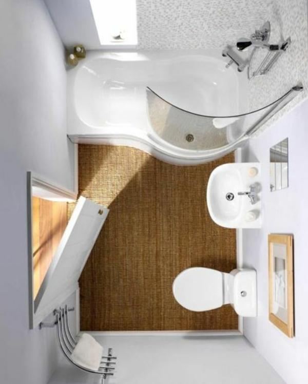 Kleines bad einrichten nehmen sie die herausforderung an for Mini badezimmer ideen