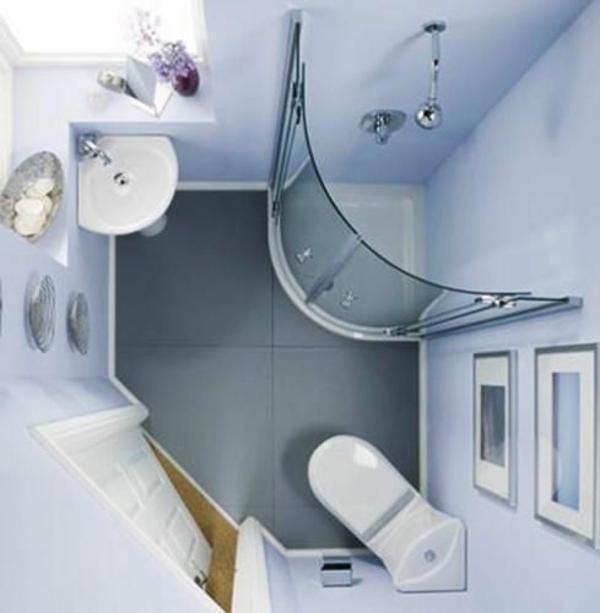 klein bad planen eckige fertigdusche badgestaltung kleines bad