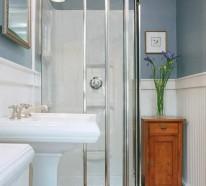 Kleines Bad einrichten – nehmen Sie die Herausforderung an!