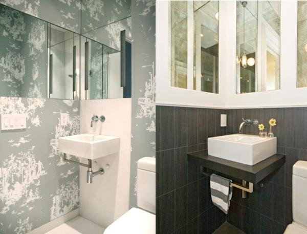Kleines Bad Einrichten Ideen Wandgestaltung Fliesen