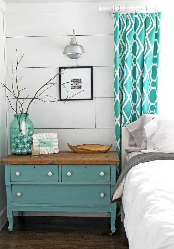 kommode schlafzimmer gardinen ideen fertiggardinen moderne vorhänge