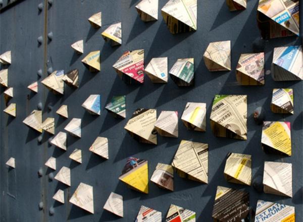 Kreative Wandgestaltung Wanddeko Außenwand Dekorieren Graffiti Künstlerin  Anna Garforth