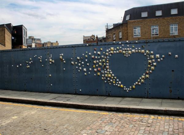kreative wandgestaltung wanddeko ideen graffiti künstlerin anna garforth