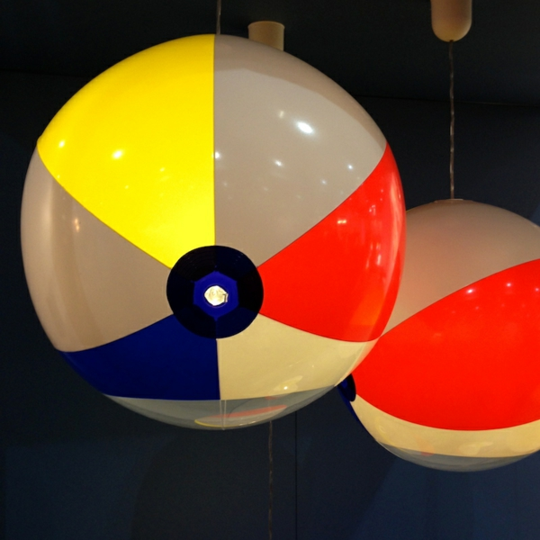 kugel pendelleuchte strandball pendelleuchten esszimmer