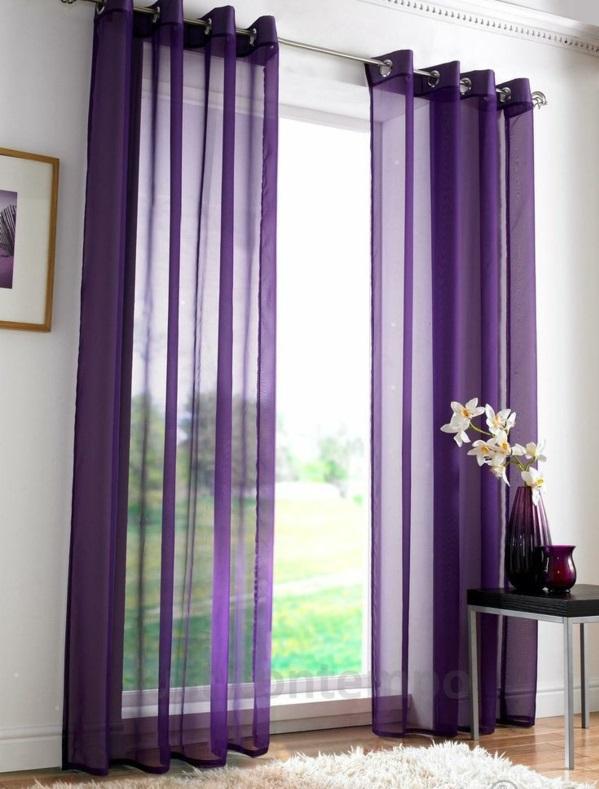 gardinen fenster vorhänge schlafzimmer luftig
