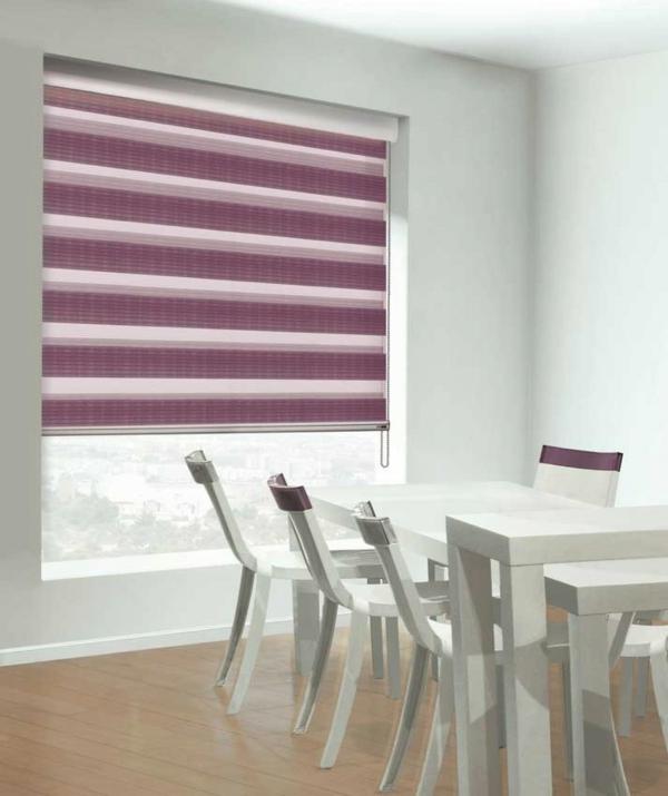 lila raum gardinen fensterladen vorhänge esszimmer