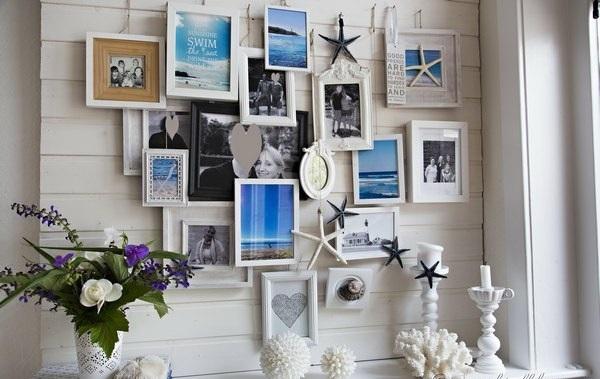 lustige weiß farben sommer bilder wand dekorativ