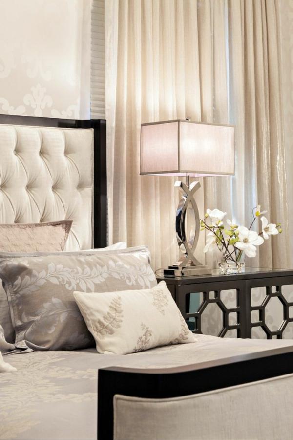 luxus schlafzimmer einrichten gardinen ideen moderne vorhänge