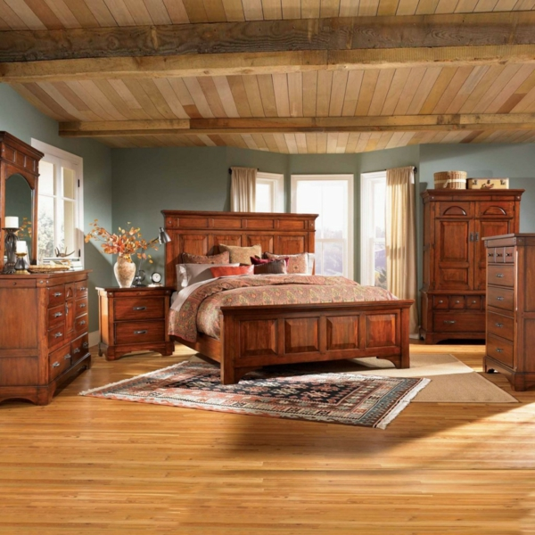 möbel schlafzimmer einrichten im kolonialstil einrichtungstil holz möbel