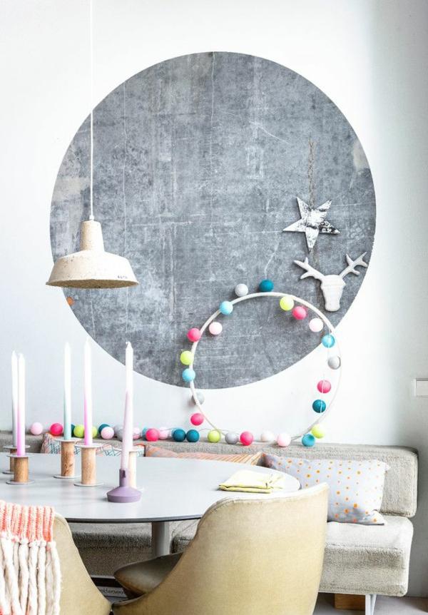 Moderne Wohnzimmerwände moderne wandgestaltung kreative ideen und beispiele