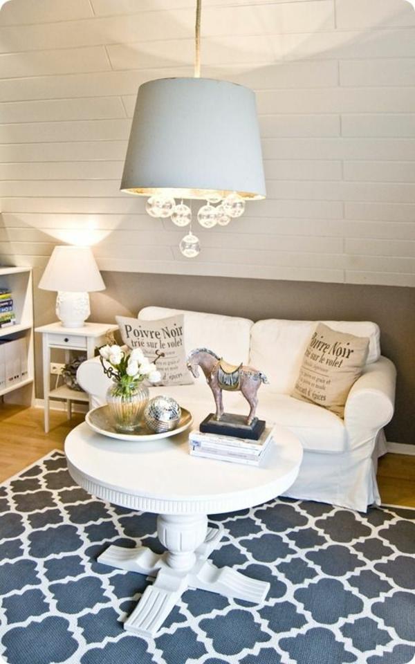 Wohnzimmerlampen, die Ihr Ambiente schick und originell dekorieren