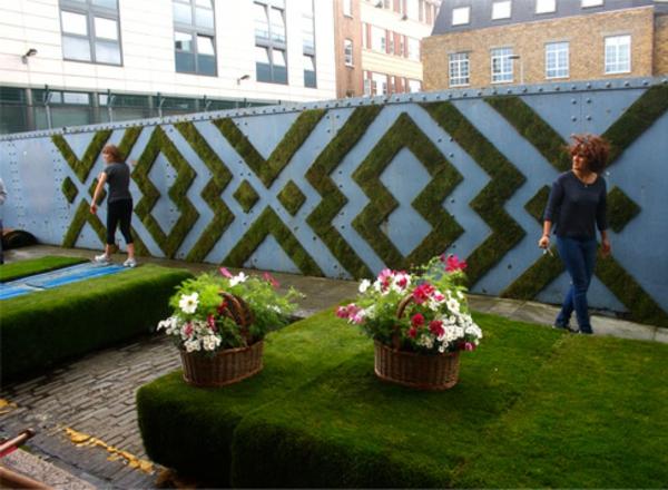 graffiti bilder gartengestaltung zaun graffiti künstlerin anna garforth