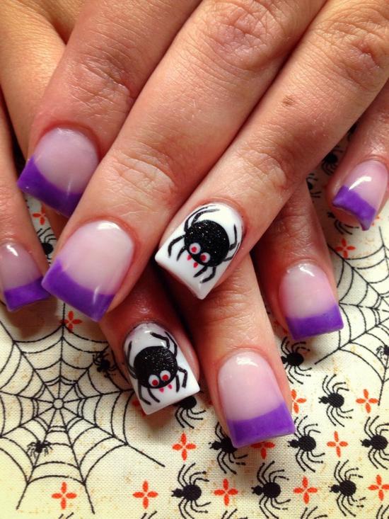 Nagellack Ideen Fu00fcr Halloween - 40 Inspirierende Nageldesign Bilder