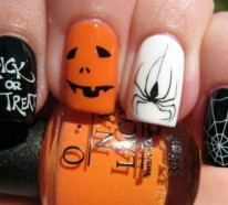 Nagellack Ideen für Halloween – 40 inspirierende Nageldesign Bilder
