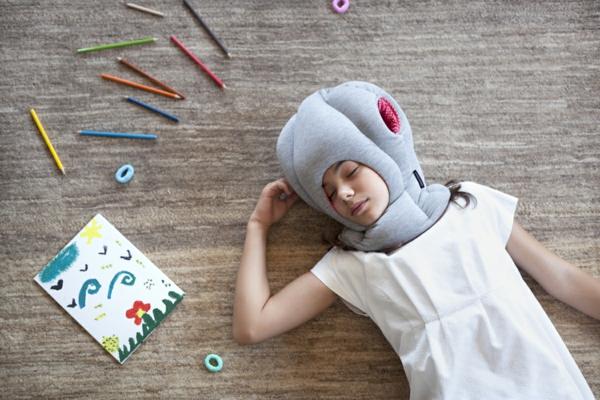 ostrich pillow designer kissen kinderschlaf