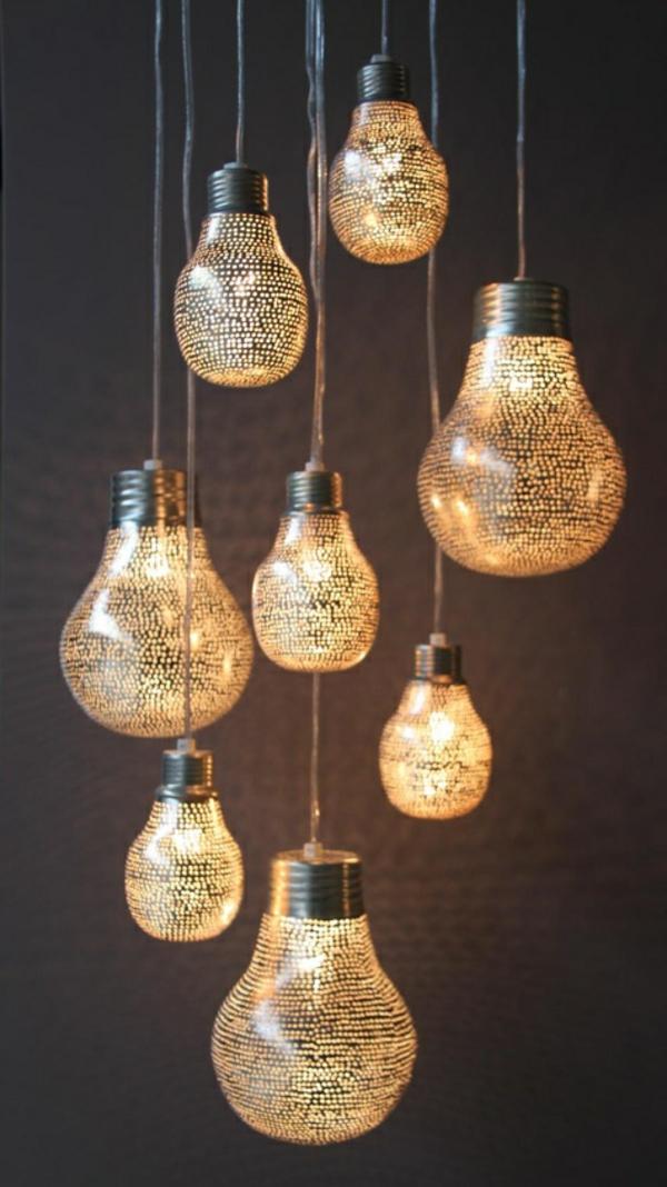 Moderne Hängeleuchten wohnzimmerlen die ihr ambiente schick und originell dekorieren