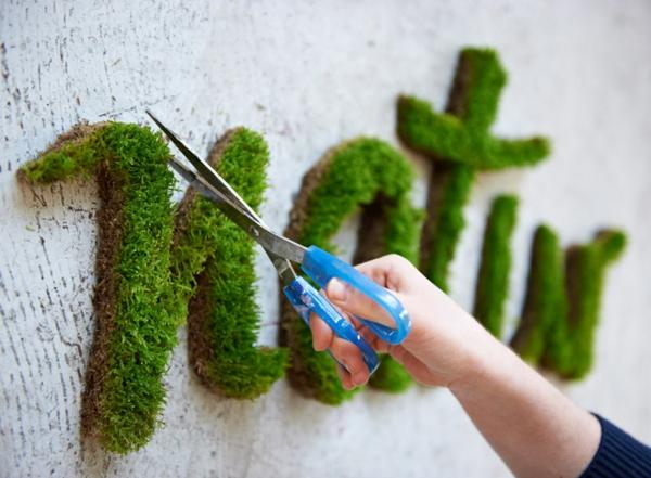 projekt natur graffiti erstellen graffiti aus moos künstlerin anna garforth