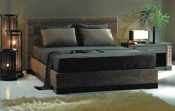 sind die rattanbetten passend f r mein schlafzimmer. Black Bedroom Furniture Sets. Home Design Ideas