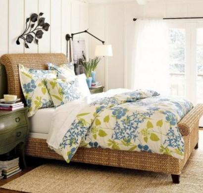 Sind die Rattanbetten passend für mein Schlafzimmer?