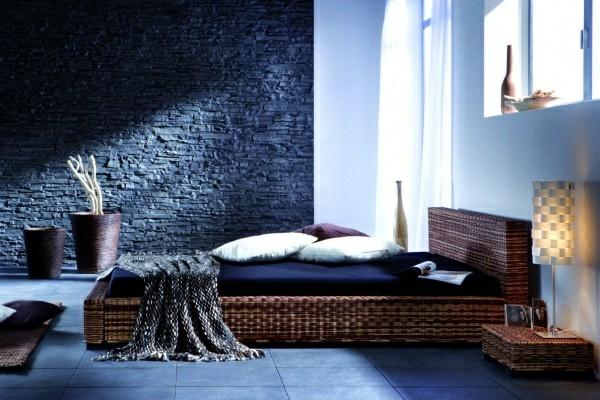 rattanbetten gestell rahmen schlafzimmer modern