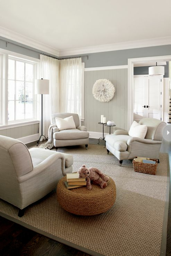 wandfarbe grau 29 ideen f r die perfekte hintergrundfarbe in jedem raum. Black Bedroom Furniture Sets. Home Design Ideas