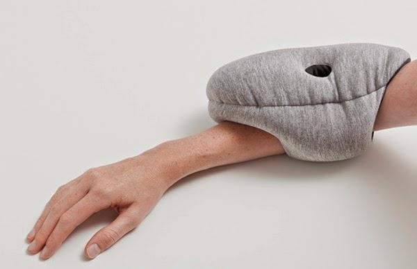 reisekissen designer kissen Ostrich Pillow Mini innovatives design