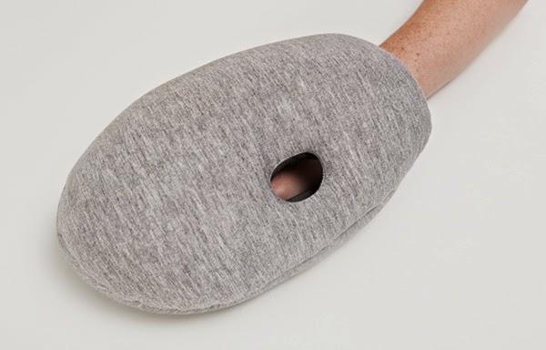 reisekissen designer kissen Ostrich Pillow Mini kreative ideen