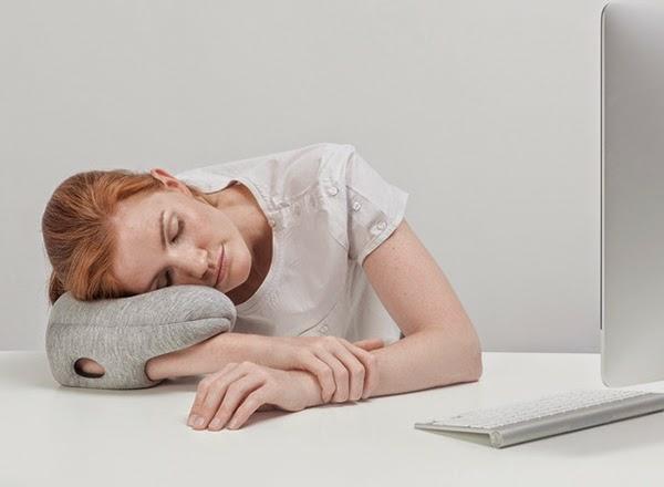 reisekissen designer kissen Ostrich Pillow Mini nickerchen machen
