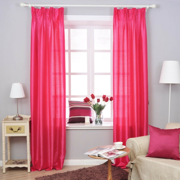 Gardinen Rosa - die romantischen Farbnuancen schlechthin!