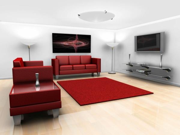 rote teppiche weich raum sofas polsterung bodenbelag