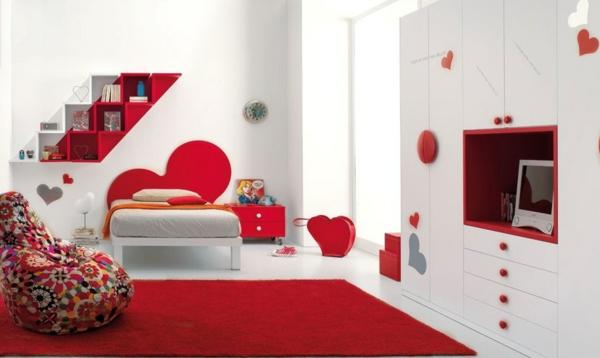 mädchen teppiche weich raum sofas polsterung herzen