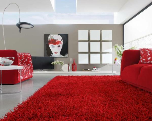 rote teppiche weich raum sofas polsterung weich heimtextilien