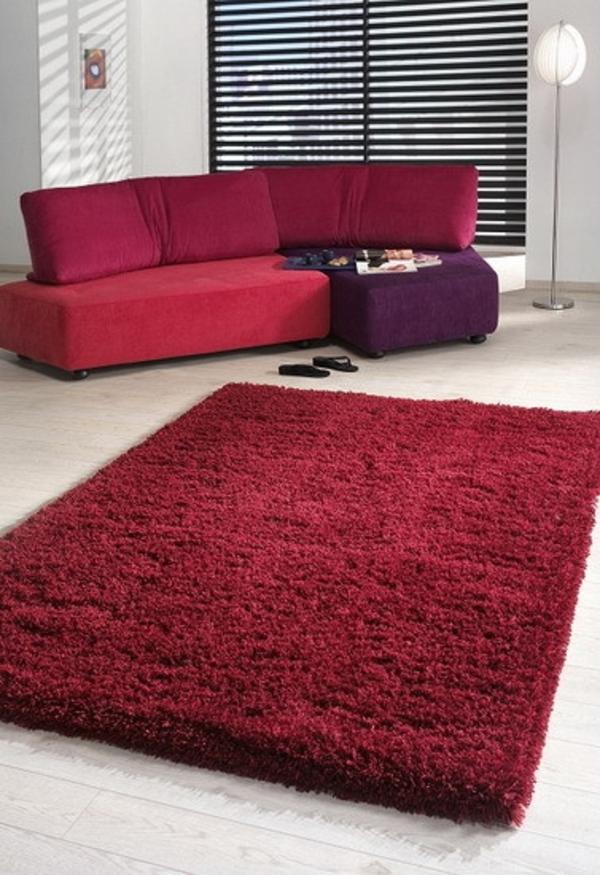 rote look extravagant teppiche weich raum sofas polsterung