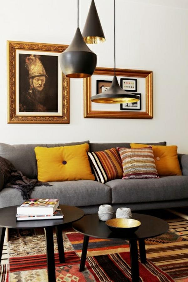 runde couchtische einrichtung wohnzimmer möbel designer leuchten