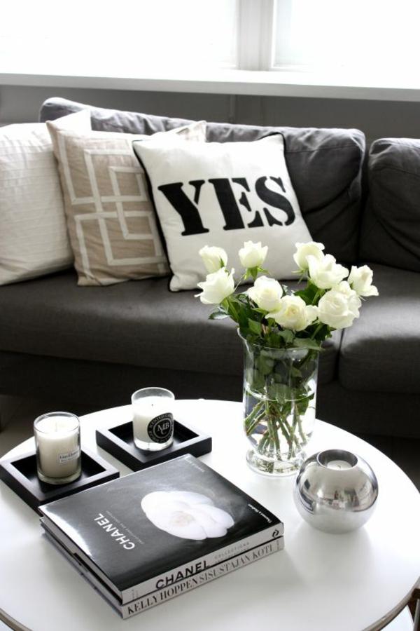 runde couchtische wohnzimmer modern einrichten modedesign