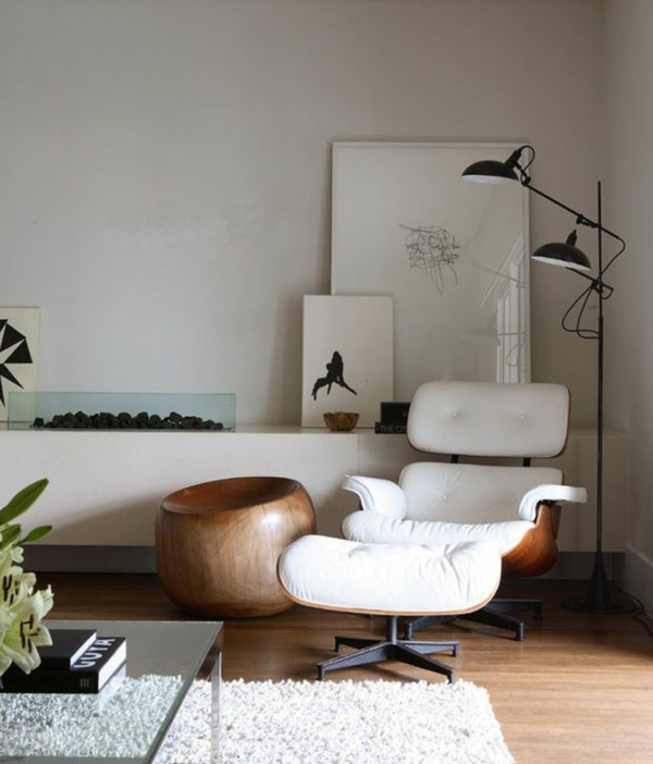 runder couchtisch holz wohnzimmer einrichtungsideen designer möbel