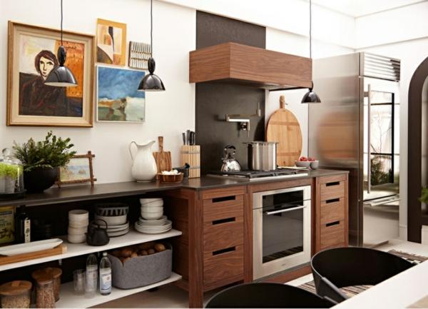 scandinavische möbel küche einrichten holzküche skandinavisches design und form