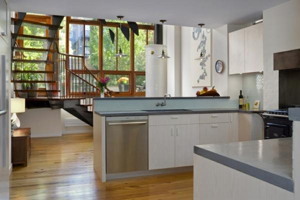 scandinavische möbel küche einrichten nachhaltige materialien holzboden skandinavisches design und form