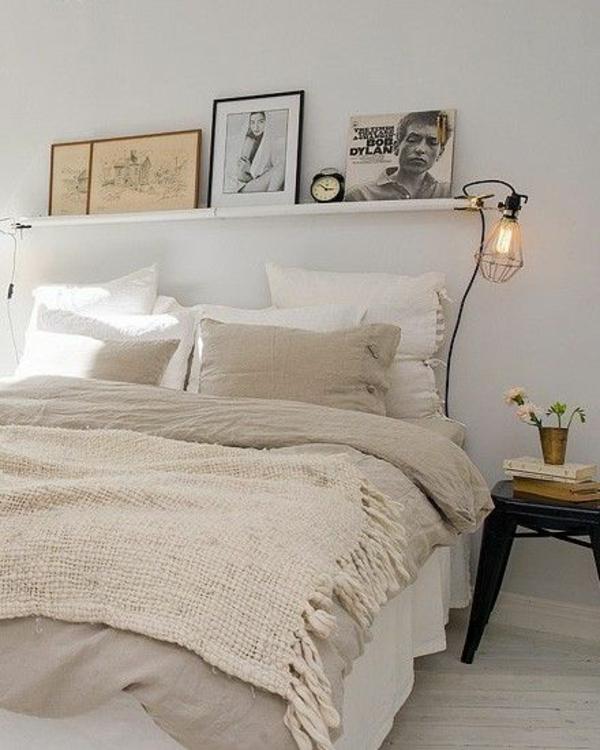 schlafzimmer regal ber bett lilashouse. Black Bedroom Furniture Sets. Home Design Ideas