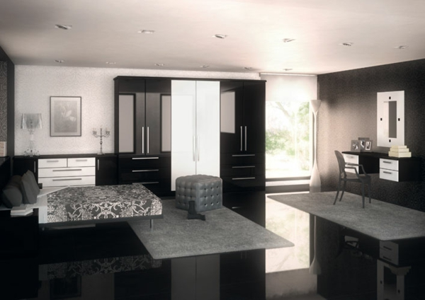 wohnzimmer einrichten grau schwarz | wohnzimmer ideen - Wohnzimmer Beige Rot