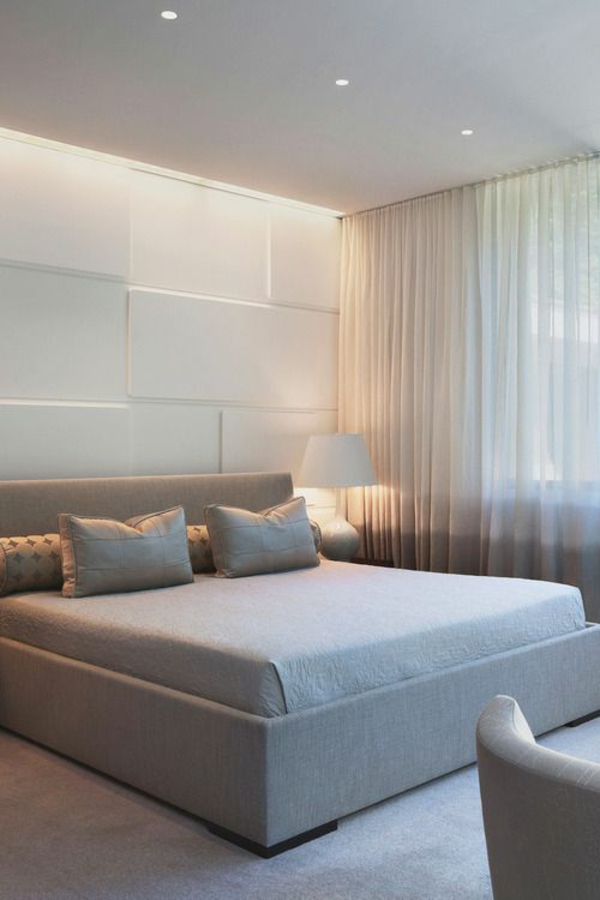 schlafzimmer gardinen ideen modern fertiggardinen moderne vorhänge