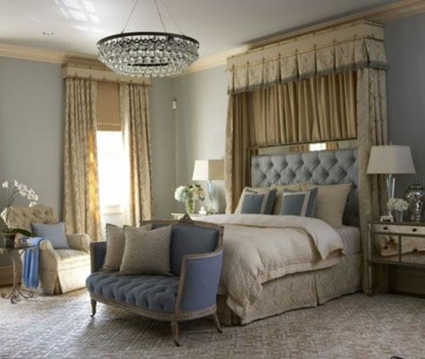 schlafzimmer gardinen ideen vorhänge gardinenstoff
