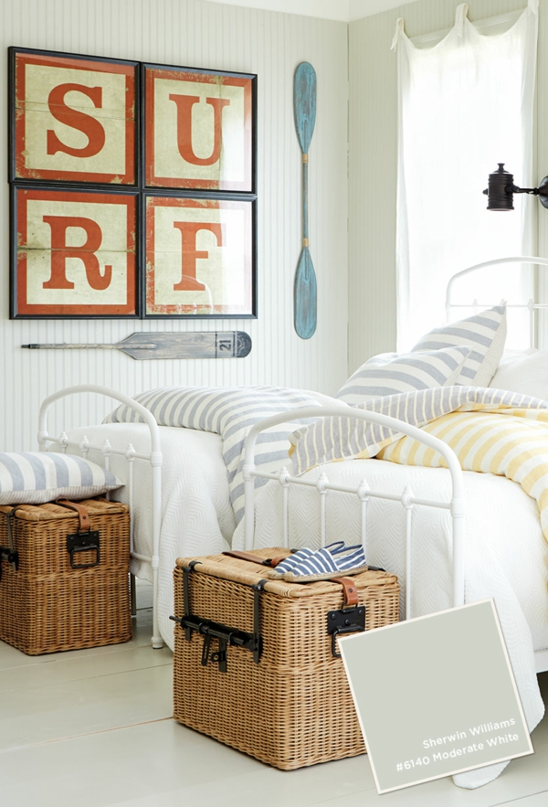 schlafzimmer ideen wandfarbe banjamin moore helle wandfarben schmutzigweiß