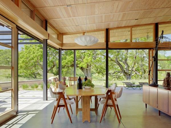 Skandinavisch Einrichten Esszimmer Gestalten Holz Esstisch Mit Stühlen Skandinavisches  Design
