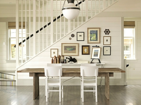 Esstisch Holz Skandinavisch ~ Felldecken und teppiche sind ganz typisch für den skandinavischen