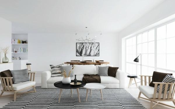 Skandinavisch Einrichten Wohnzimmer Ideen Skandinavisches Design