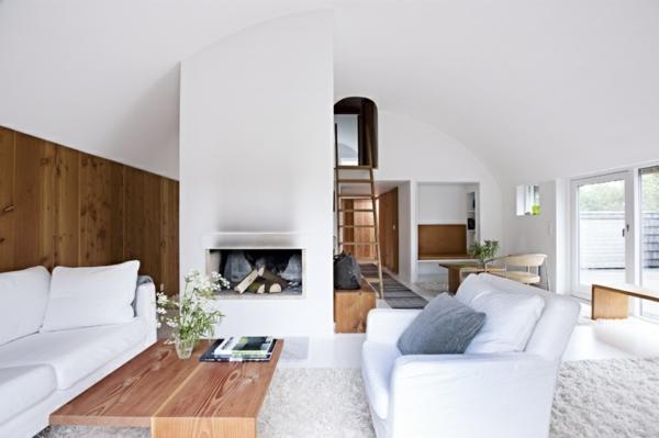 Einrichtungsideen wohnzimmer weiß  Skandinavisch einrichten - manimalistisches Design ist heute angesagt